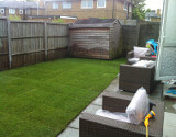 Newly Laid Artificial Lawn in London