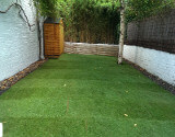 New garden Shed and Fake Turf